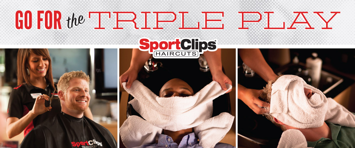 The Sport Clips Haircuts of Flagstaff Aspen Place  Triple Play